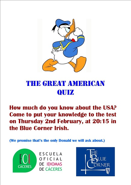 Poster The Great American Quiz3