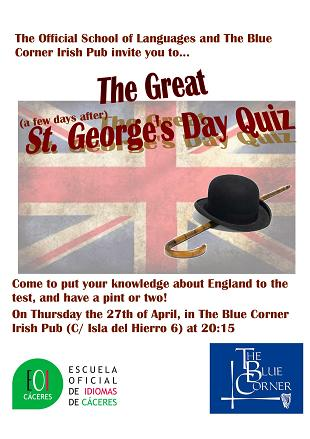 Quiz St Geroges Day 20171